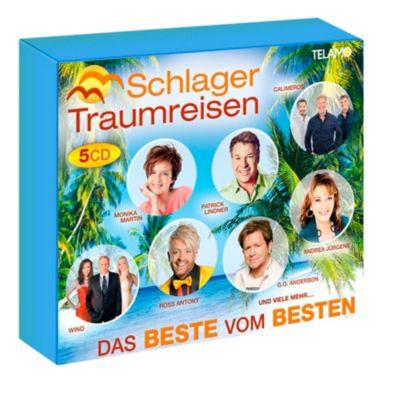 Schlager Traumreisen - Das Beste vom Besten (Exklusive 5CD-Box), Diverse Interpreten