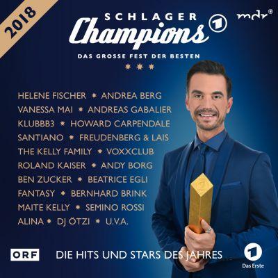 Schlagerchampions 2018 - Das große Fest der Besten (2 CDs), Various