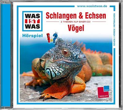 Schlangen und Echsen / Vögel, 1 Audio-CD, Manfred Baur