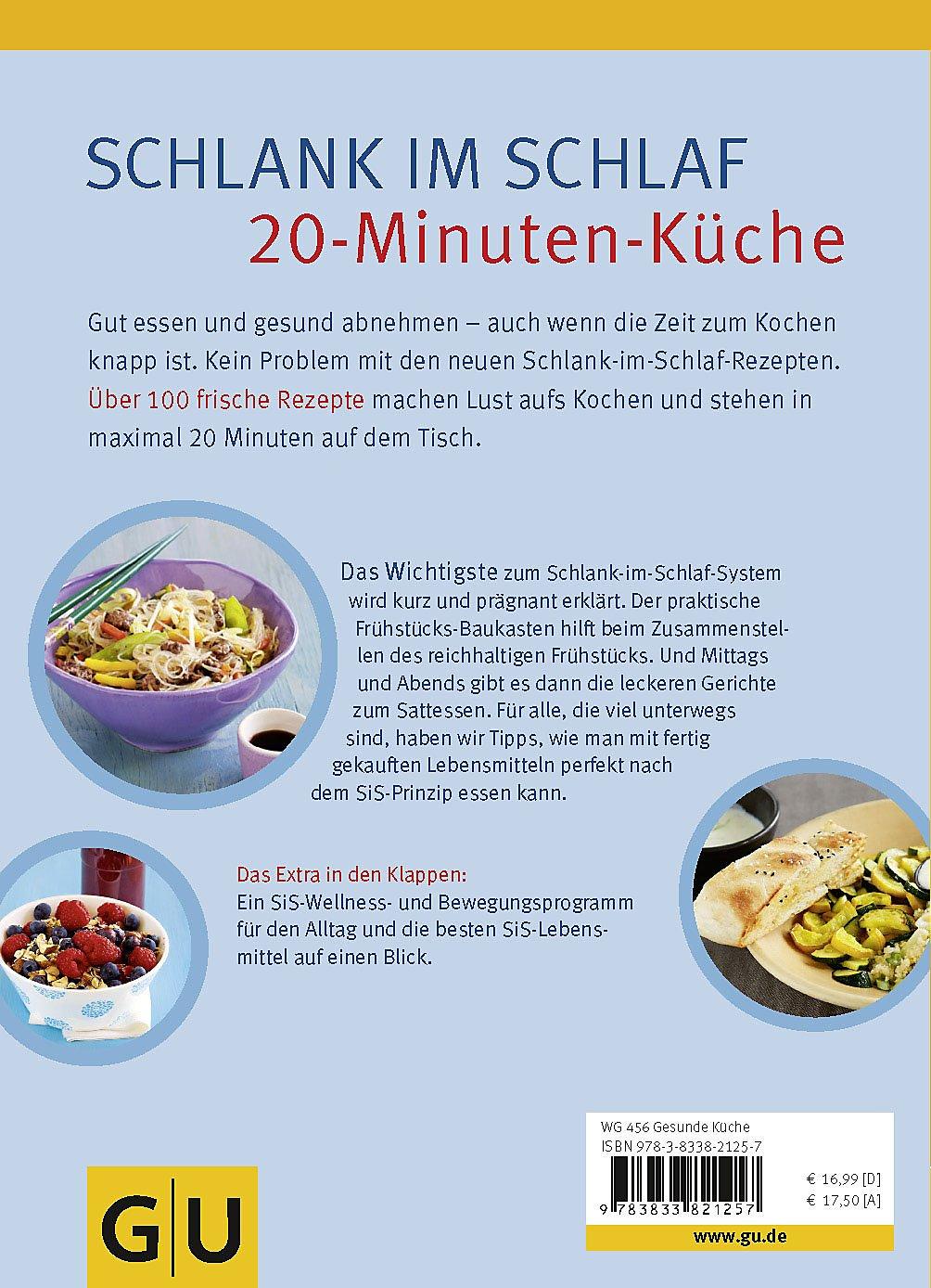 Schlank Im Schlaf 20 Minuten Küche Buch Portofrei Weltbildde
