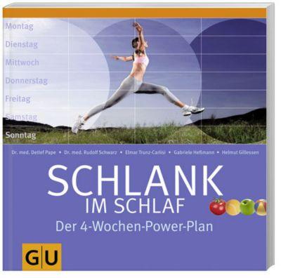 Schlank im Schlaf, Der 4-Wochen-Power-Plan, Helmut Gillessen, Gabriele Heßmann, Dr. med. Detlef Pape, Rudolf Schwarz, Elmar Trunz-Carlisi