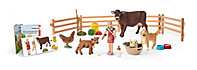 Schleich - Adventskalender Bauernhof 2016 - Produktdetailbild 1