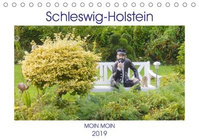 Schleswig-Holstein Moin Moin (Tischkalender 2019 DIN A5 quer), Martina Busch