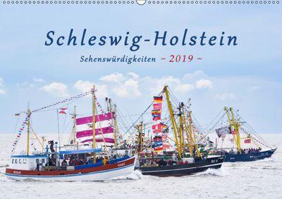Schleswig-Holstein Sehenswürdigkeiten (Wandkalender 2019 DIN A2 quer), Rainer Kulartz