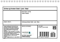 Schleswig-Holstein. Stadt - Land - Meer (Tischkalender 2019 DIN A5 quer) - Produktdetailbild 11