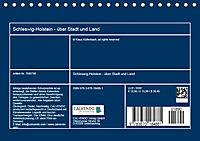Schleswig-Holstein - über Stadt und Land (Tischkalender 2019 DIN A5 quer) - Produktdetailbild 13