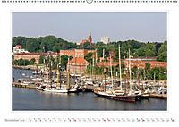 Schleswig-Holstein - über Stadt und Land (Wandkalender 2019 DIN A2 quer) - Produktdetailbild 11