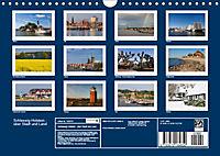 Schleswig-Holstein - über Stadt und Land (Wandkalender 2019 DIN A4 quer) - Produktdetailbild 13