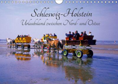 Schleswig-Holstein, Urlaubsland zwischen Nord- und Ostsee (Wandkalender 2019 DIN A4 quer), Lothar Reupert