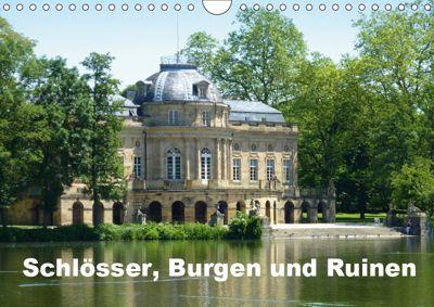 Schlösser, Burgen und Ruinen (Wandkalender 2019 DIN A4 quer), Klaus-Peter Huschka