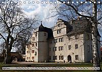 Schlösser- und Burgenland Thüringen (Tischkalender 2019 DIN A5 quer) - Produktdetailbild 4