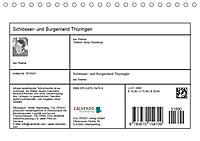 Schlösser- und Burgenland Thüringen (Tischkalender 2019 DIN A5 quer) - Produktdetailbild 13