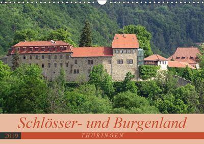 Schlösser- und Burgenland Thüringen (Wandkalender 2019 DIN A3 quer), Flori0