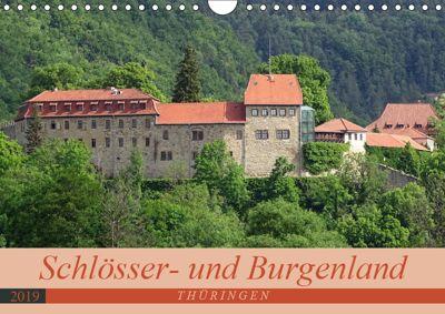 Schlösser- und Burgenland Thüringen (Wandkalender 2019 DIN A4 quer), Flori0