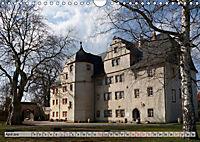 Schlösser- und Burgenland Thüringen (Wandkalender 2019 DIN A4 quer) - Produktdetailbild 4