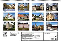 Schlösser- und Burgenland Thüringen (Wandkalender 2019 DIN A2 quer) - Produktdetailbild 13