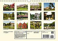 Schlösser und Gärten in England (Wandkalender 2019 DIN A4 quer) - Produktdetailbild 13