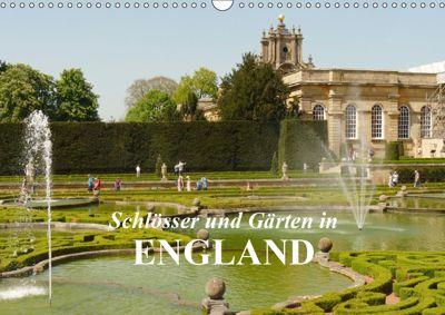 Schlösser und Gärten in England (Wandkalender 2019 DIN A3 quer), Gisela Kruse
