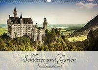 Schlösser und Gärten Süddeutschland (Wandkalender 2019 DIN A3 quer), Andy D.