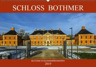 Schloss Bothmer - Klützer Schlossimpressionen (Wandkalender 2019 DIN A2 quer), Holger Felix
