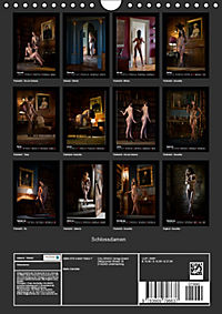 Schlossdamen - Aktbilder in historischen Räumen (Wandkalender 2019 DIN A4 hoch) - Produktdetailbild 13