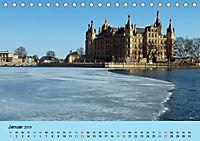 Schlossimpressionen Schwerin 2019 (Tischkalender 2019 DIN A5 quer) - Produktdetailbild 1