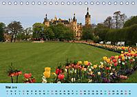 Schlossimpressionen Schwerin 2019 (Tischkalender 2019 DIN A5 quer) - Produktdetailbild 5