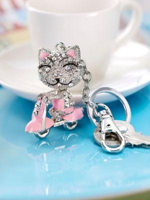 Schlüsselanhänger Happy Cat