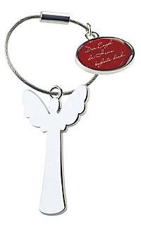 Schlüsselanhänger mit Segenswunschmedaillon »Ein Engel für dich« - Produktdetailbild 3