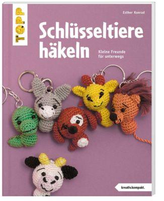 Schlüsseltiere häkeln (kreativ.kompakt.), Esther Konrad