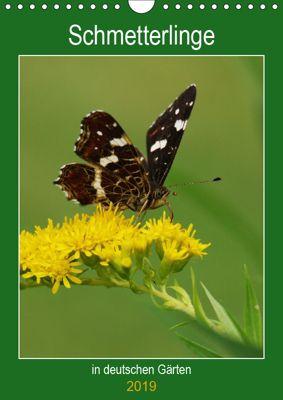 Schmetterlinge in deutschen Gärten (Wandkalender 2019 DIN A4 hoch), Werner Prescher
