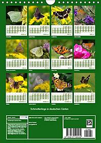 Schmetterlinge in deutschen Gärten (Wandkalender 2019 DIN A4 hoch) - Produktdetailbild 13