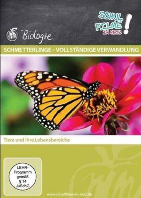 Schmetterlinge - vollständige Verwandlung, 1 DVD