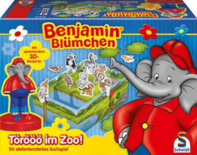 Schmidt Spiele Benjamin Blümchen - Törööö im Zoo, Kinderspiel