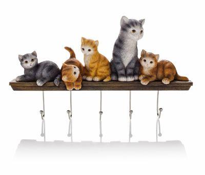 Schmuckhalter Katzenfamilie