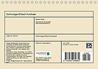 Schmusige Britisch Kurzhaar (Tischkalender 2019 DIN A5 quer) - Produktdetailbild 13