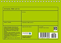 Schnecke, Käfer und Co (Tischkalender 2019 DIN A5 quer) - Produktdetailbild 13