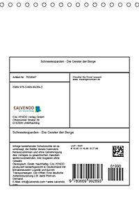 Schneeleoparden - Die Geister der Berge (Tischkalender 2019 DIN A5 hoch) - Produktdetailbild 13