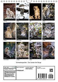 Schneeleoparden - Die Geister der Berge (Wandkalender 2019 DIN A4 hoch) - Produktdetailbild 13
