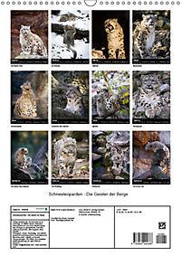 Schneeleoparden - Die Geister der Berge (Wandkalender 2019 DIN A3 hoch) - Produktdetailbild 13