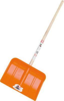Schneeschaufel orange, Kst. 87cm