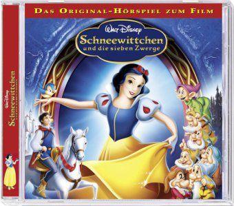 Schneewittchen und die Sieben Zwerge, 1 Audio-CD, Walt Disney
