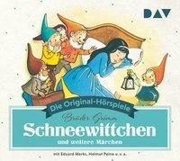 Schneewittchen und weitere Märchen, 1 Audio-CD, Jacob Grimm, Wilhelm Grimm