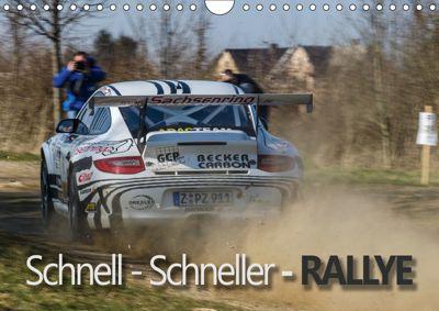 Schnell - Schneller - Rallye (Wandkalender 2019 DIN A4 quer), Christian Kuhnert