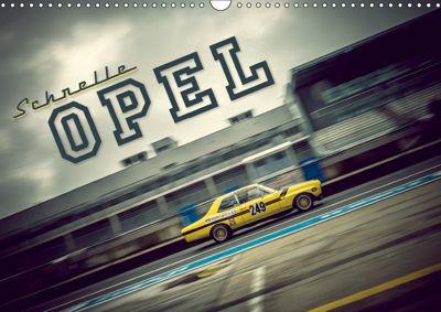 Schnelle Opel (Wandkalender 2019 DIN A3 quer), Johann Hinrichs