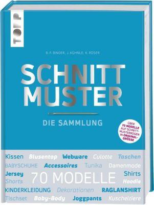 Schnittmuster. Die Sammlung. Mit 8 Schnittmusterbogen in praktischer Tasche. - frechverlag |