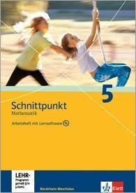 Schnittpunkt Mathematik, Ausgabe Nordrhein-Westfalen, Neubearbeitung: Klasse 5, Arbeitsheft, m. CD-ROM