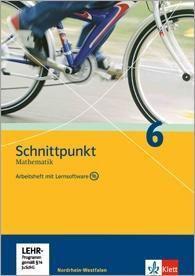 Schnittpunkt Mathematik, Ausgabe Nordrhein-Westfalen, Neubearbeitung: Klasse 6, Arbeitsheft, m. CD-ROM
