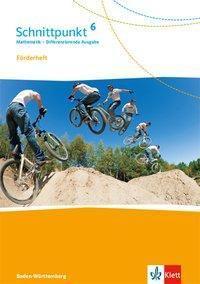 Schnittpunkt Mathematik, Differenzierende Ausgabe Baden-Württemberg: 6. Schuljahr, Förderheft mit Lösungen