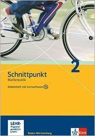 Schnittpunkt Mathematik, Realschule Baden-Württemberg: Bd.2 Klasse 6, Arbeitsheft m. CD-ROM